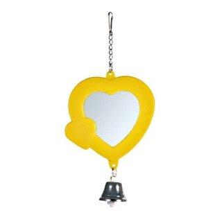 Herz-Spiegel mit Glocke 7 cm