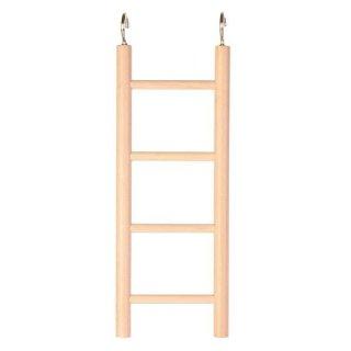 Leiter, Holz 4 Sprossen/20 cm