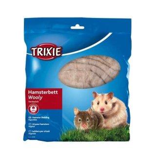 Hamsterwatte, Baumwolle 100 g, braun