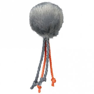 Ball mit Bändern, Plüsch, Katzenminze ø 4 cm, sortiert