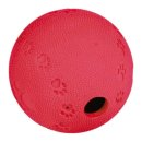 Snackball, Naturgummi ø 6 cm