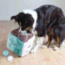 Würfel mit 4 Spielbällen, Plüsch 21 × 21 × 21 cm