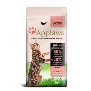 Applaws Katzentrockenfutter mit Hühnchen & Lachs 2 kg