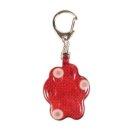 Flasher für Hunde 3,5 × 4,5 cm, rot