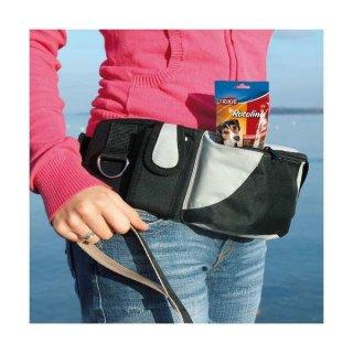 Hüfttasche Baggy Belt Gurt: 62–125 cm, schwarz/grau