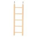Leiter, Holz 5 Sprossen/24 cm