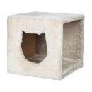 Kuschelhöhle für Regale 33 × 33 × 37 cm, lichtgrau