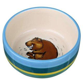 Napf, Comic-Kaninchen, Keramik 250 ml/ø 11 cm, bunt/creme