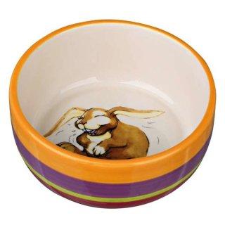 Napf, Comic-Meerschweinchen, Keramik 250 ml/ø 11 cm, bunt/creme