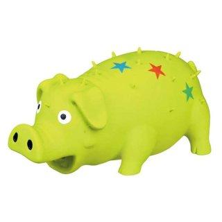 Schwein mit Sternen, Latex 16 cm